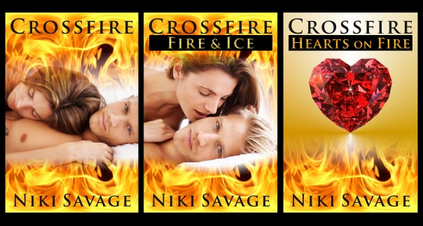 New crossfire trilogy covers 27 May 2013